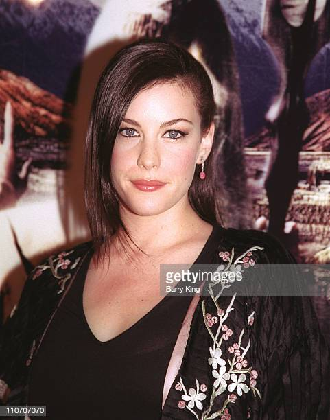 Liv Tyler during 'The Lord Of The Rings The Two Towers' Los Angeles Premiere Arrivals at Cinerama Dome Theatre in Hollywood California United States