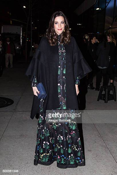 Liv Tyler is seen at Lincoln Center on December 7 2015 in New York City