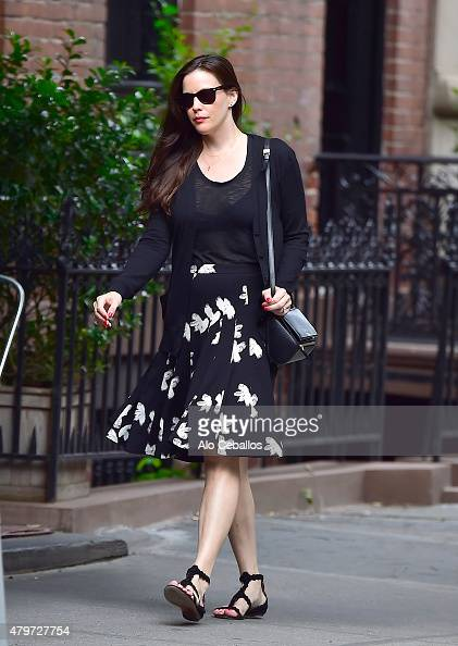 Liv Tyler is seen in the West Village on July 6 2015 in New York City