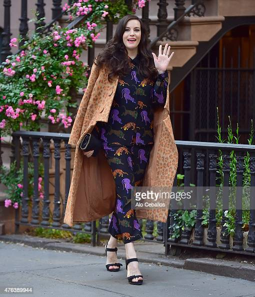 Liv Tyler is seen in the West Village on June 8 2015 in New York City