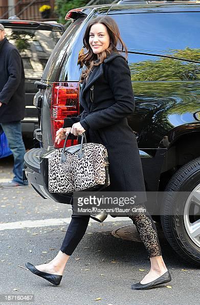 Liv Tyler is seen on November 06 2013 in New York City