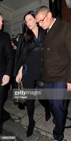 Liv Tyler leaves Mark's Club in Mayfair on November 20 2014 in London England