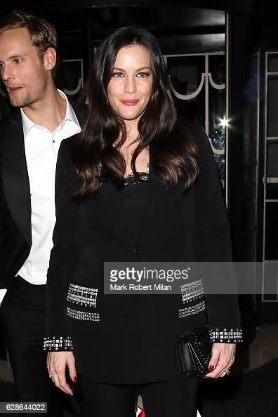 Liv Tyler London Evening Standard British Film Awards on December 8 2016 in London England