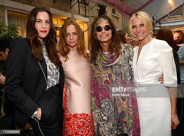 Liv Tyler Stella McCartney Steven Tyler and Cameron Diaz attend the Stella McCartney Spring 2014 Collection Presentation at West 10th Street on June...