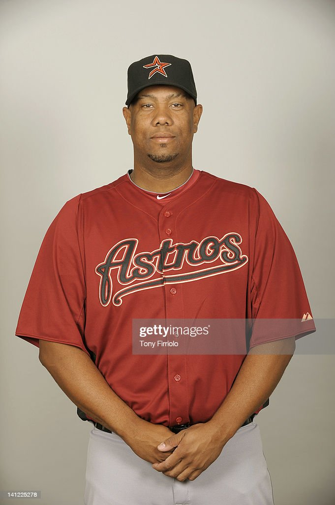 Livan Hernandez (61) of the Houston Astros poses during Photo Day on Tuesday, February 28, 2012 at Osceola County Stadium in Kissimmee, Florida.
