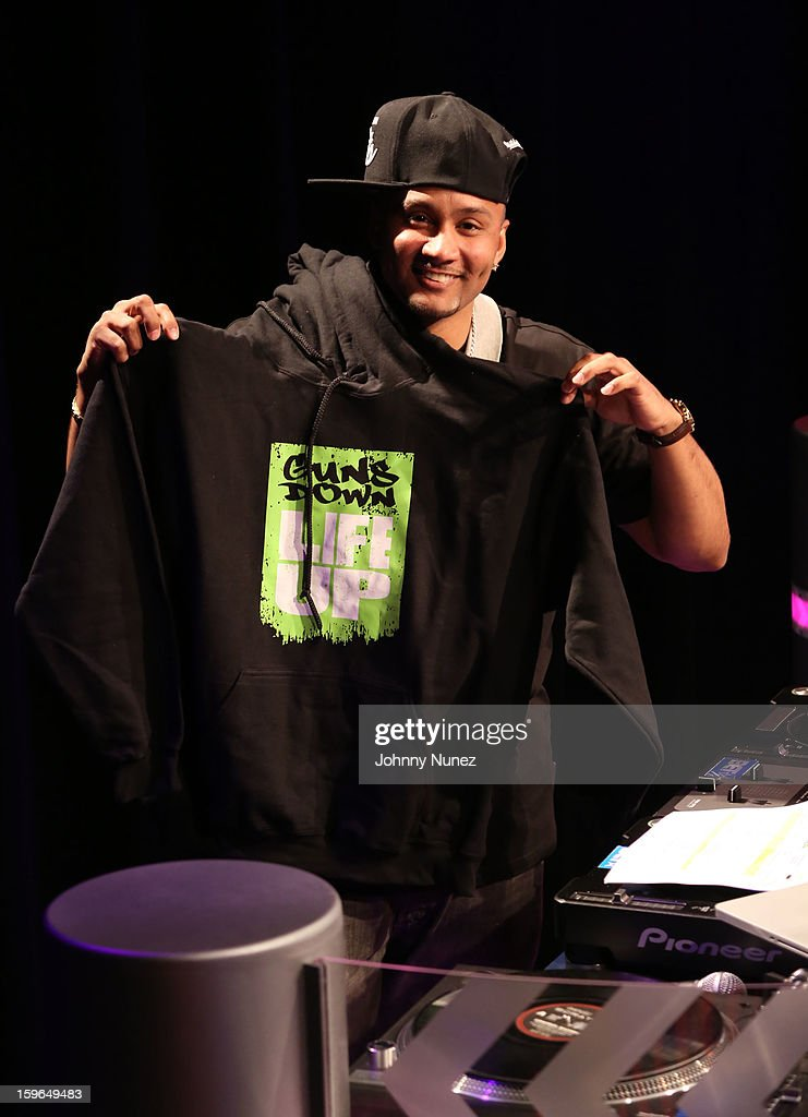DJ Live attends BET's '106 & Park' at BET Studios on January 17, 2013 in New York City.