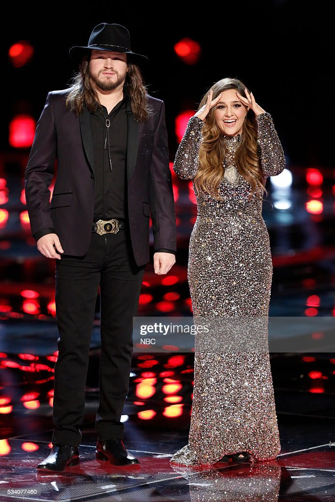 THE VOICE -- 'Live Finale' Episode 1018B -- Pictured: (l-r) Adam Wakefield, <a gi-track='captionPersonalityLinkClicked' href=/galleries/search?phrase=Alisan+Porter&family=editorial&specificpeople=668247 ng-click='$event.stopPropagation()'>Alisan Porter</a> --
