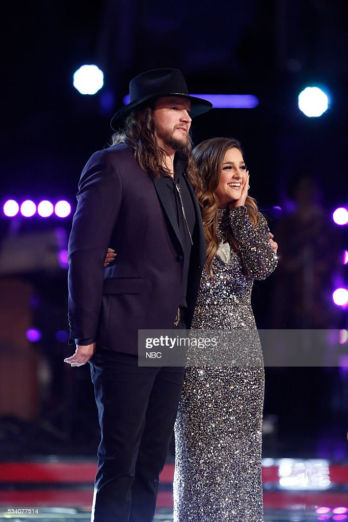 THE VOICE -- 'Live Finale' Episode: 1018B -- Pictured: (l-r) Adam Wakefield, <a gi-track='captionPersonalityLinkClicked' href=/galleries/search?phrase=Alisan+Porter&family=editorial&specificpeople=668247 ng-click='$event.stopPropagation()'>Alisan Porter</a> --
