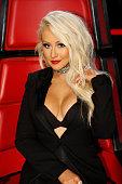 THE VOICE 'Live Finale' Episode 1018B Pictured Christina Aguilera