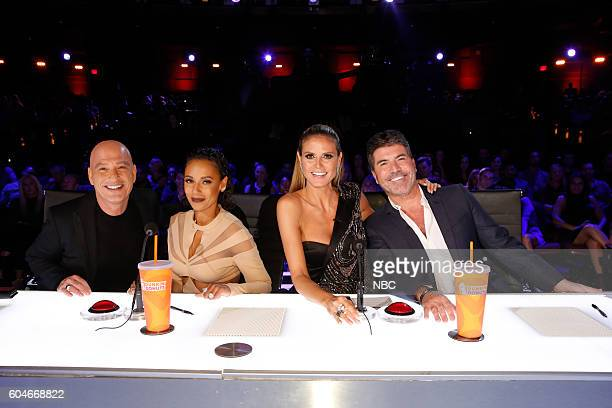 S GOT TALENT 'Live Finale' Episode 1122 Pictured Howie Mandel Mel B Heidi Klum Simon Cowell