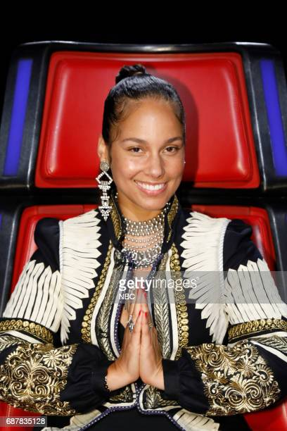 THE VOICE 'Live Finale' Episode 1219B Pictured Alicia Keys