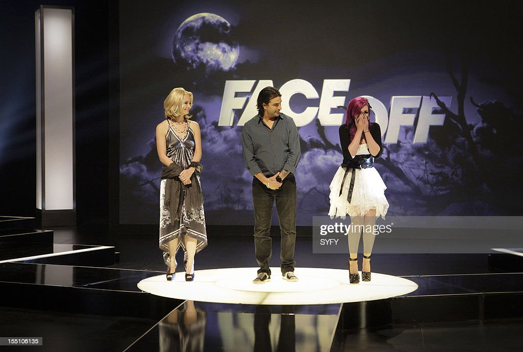 OFF -- 'Live Finale' Episode 312 -- Pictured: (l-r) Contestants Laura Tyler, Derek Garcia, Nicole Chilelli --