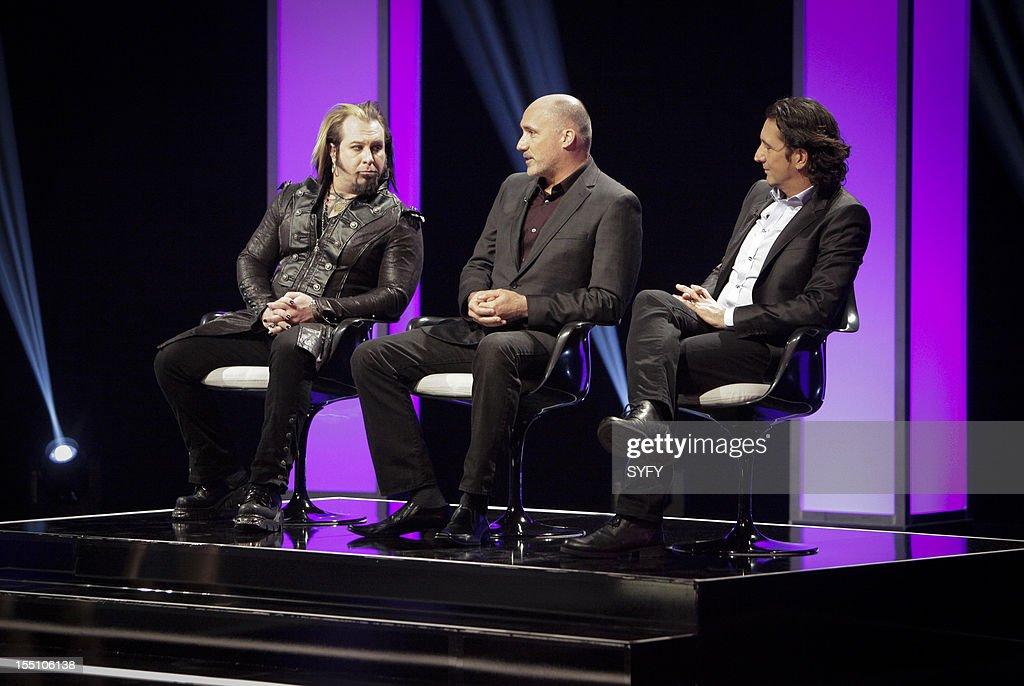 OFF -- 'Live Finale' Episode 312 -- Pictured: (l-r) Judges Glenn Hetrick, Neville Page, Patrick Tatopoulos --