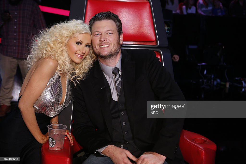 THE VOICE -- 'Live Finale' Episode 519B -- Pictured: (l-r) Christina Aguilera, Blake Shelton --