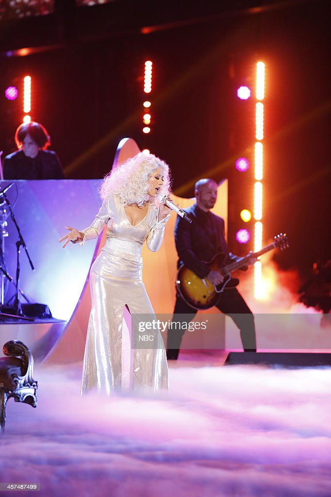 THE VOICE -- 'Live Finale' Episode 519B -- Pictured: Christina Aguilera --