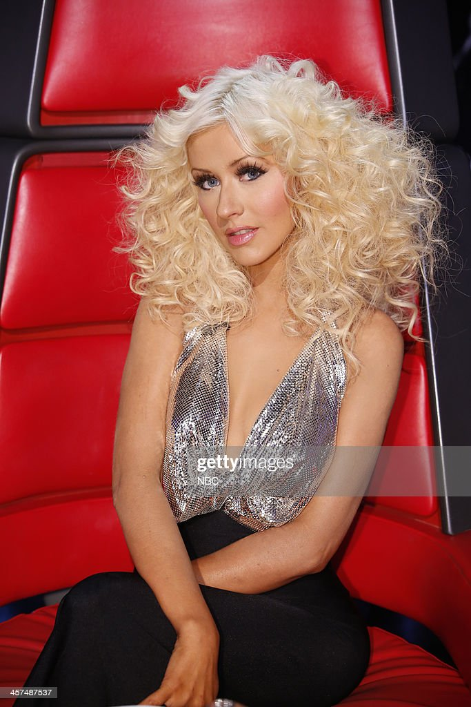 THE VOICE -- 'Live Finale' Episode 519B -- Pictured: Christina Aguilera --