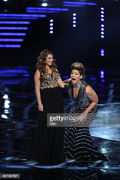 THE VOICE 'Live Finale' Episode 519B Pictured Jacquie Lee Tessanne Chin