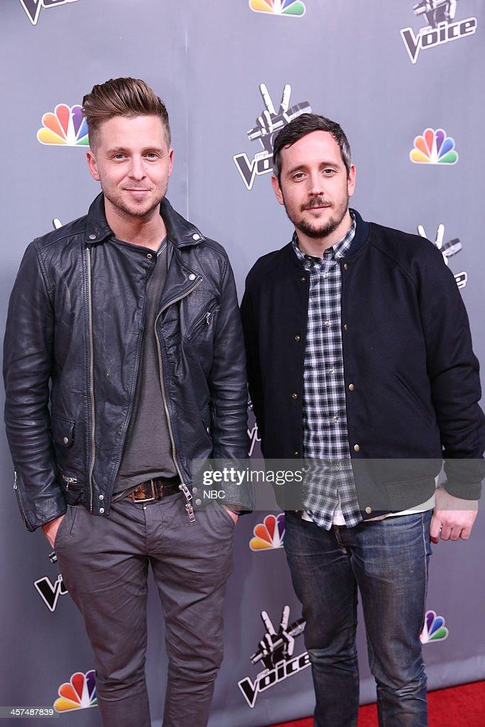 THE VOICE -- 'Live Finale' Episode 519B -- Pictured: (l-r) Ryan Tedder of OneRepublic, Noel Zancanella --