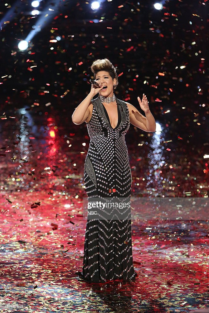 THE VOICE 'Live Finale' Episode 519B Pictured Tessanne Chin