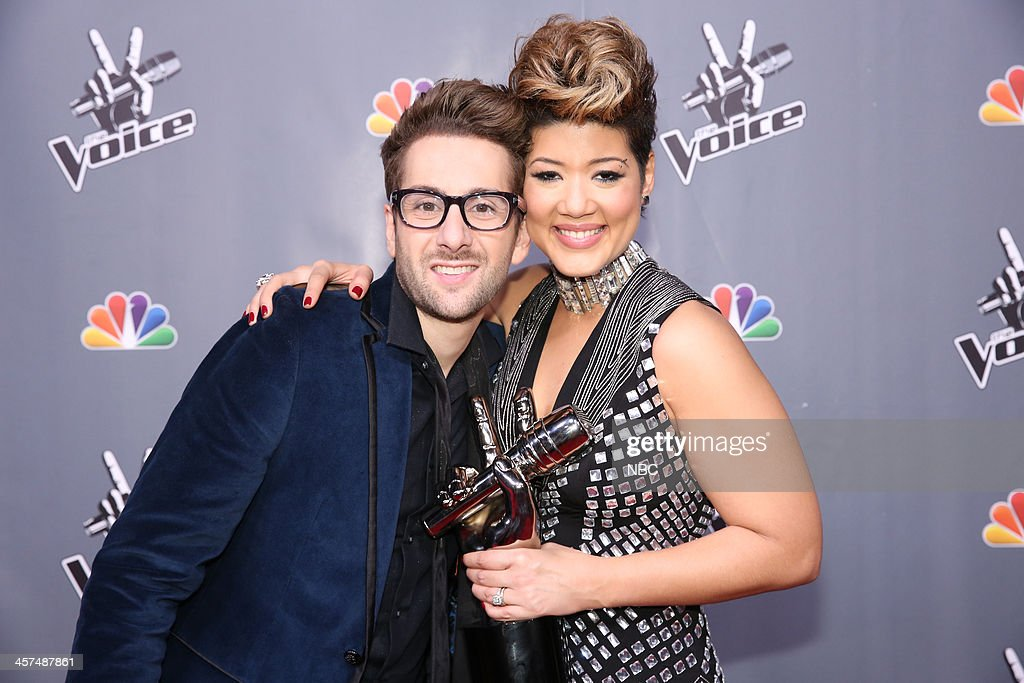 THE VOICE -- 'Live Finale' Episode 519B -- Pictured: (l-r) Will Champlin, Tessanne Chin --