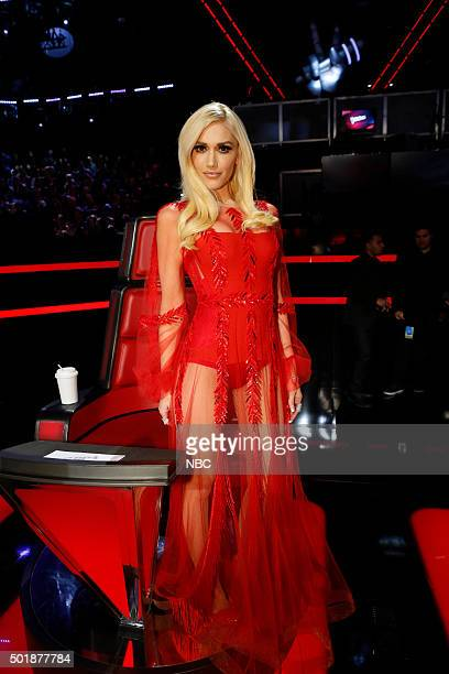 THE VOICE 'Live Finale' Episode 918B Pictured Gwen Stefani