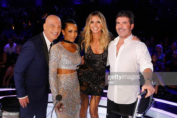 S GOT TALENT 'Live Finale Results' Episode 1123 Pictured Howie Mandel Mel B Heidi Klum Simon Cowell