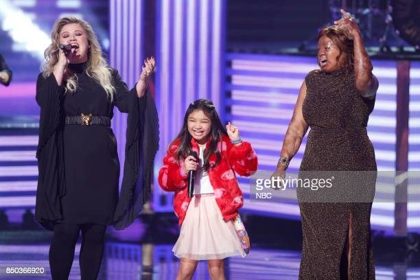 S GOT TALENT 'Live Finale Results' Episode 1224 Pictured Kelly Clarkson Angelica Hale Kechi