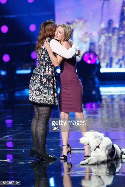 S GOT TALENT 'Live Finale Results' Episode 1224 Pictured Mandy Harvey Sara and Hero