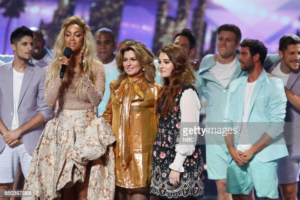 S GOT TALENT 'Live Finale Results' Episode 1224 Pictured Tyra Banks Shania Twain Mandy Harvey