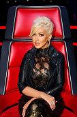 THE VOICE 'Live Finals' Episode 818A Pictured Christina Aguilera
