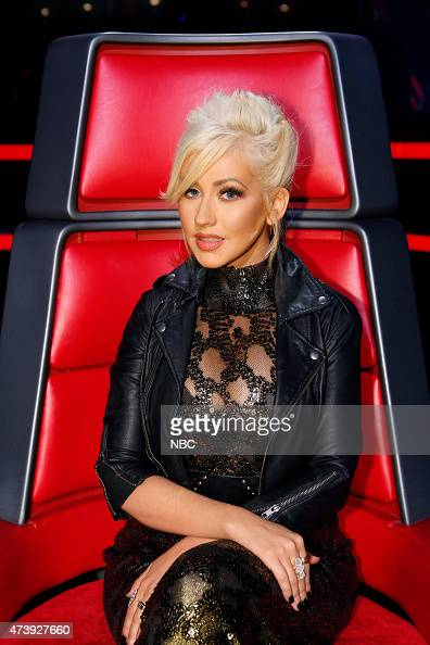 THE VOICE 'Live Finals' Episode 818A Pictured Christina Aguilera
