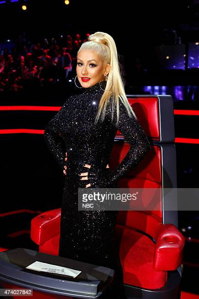 THE VOICE 'Live Finals' Episode 818B Pictured Christina Aguilera