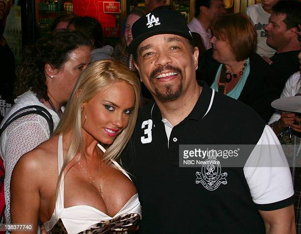 NBC NEWS 'Live Free or Die Hard' New York Premiere Pictured Nicole 'Coco' Austin and IceT arrive at the New York premiere of Die Hard 40 'Live Free...