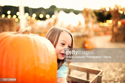 Live from pumpkin patch : Stock Photo