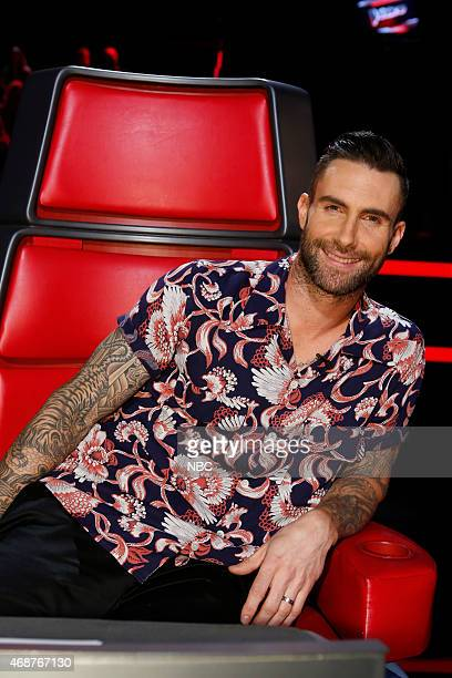 THE VOICE 'Live Playoffs' Episode 812A Pictured Adam Levine