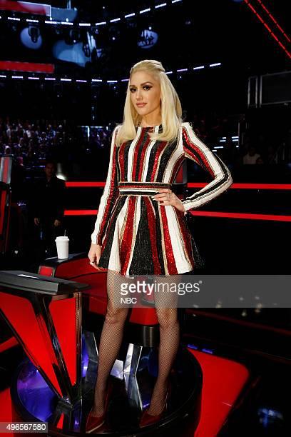 THE VOICE 'Live Playoffs' Episode 913B Pictured Gwen Stefani