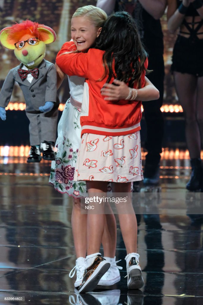S GOT TALENT -- 'Live Results 1' Episode 1214 -- Pictured: (l-r) Darci Lynne, Angelica Hale --