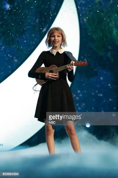 S GOT TALENT 'Live Results 1' Episode 1214 Pictured Grace Vanderwaal