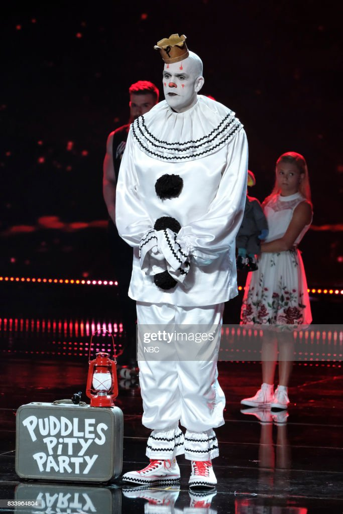 S GOT TALENT -- 'Live Results 1' Episode 1214 -- Pictured: Puddles Pity Party --