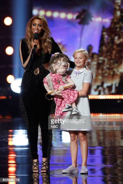 S GOT TALENT 'Live Results 4' Pictured Tyra Banks Darci Lynne