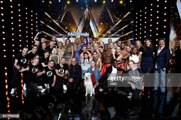 S GOT TALENT 'Live Results 5' Episode 1222 Pictured Light Balance Darci Lynne Mel B Heidi Klum Howie Mandel Tyra Banks Angelica Hale Sara Carson Hero...