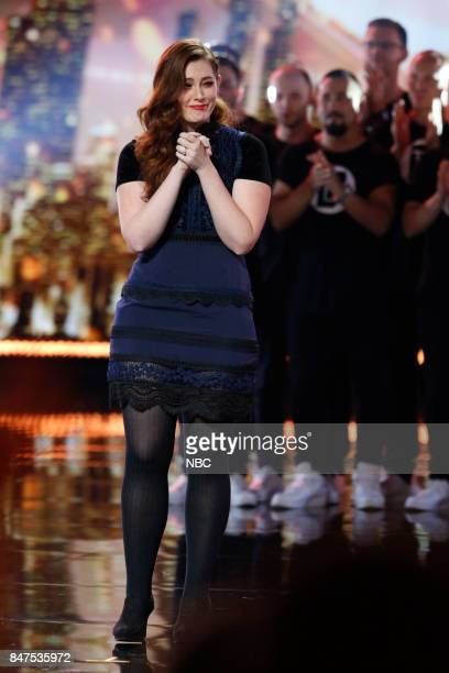 S GOT TALENT 'Live Results 5' Episode 1222 Pictured Mandy Harvey