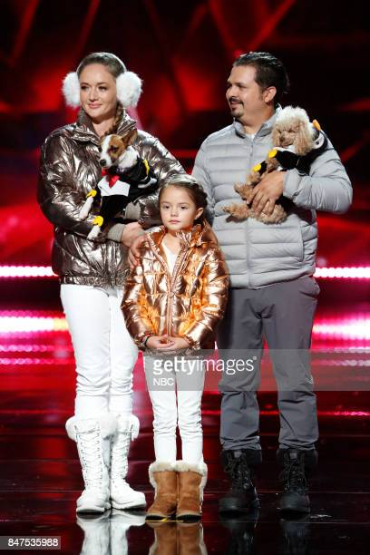 S GOT TALENT 'Live Results 5' Episode 1222 Pictured The Pompeyo Family