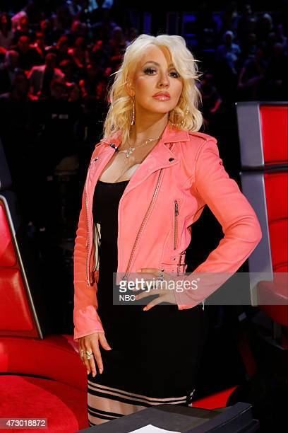 THE VOICE 'Live Semis' Episode 817A Pictured Christina Aguilera