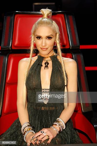 THE VOICE 'Live Semis' Episode 917A Pictured Gwen Stefani