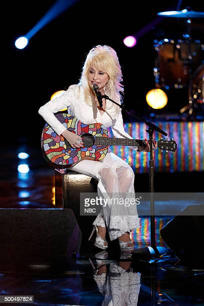 THE VOICE 'Live Semis' Episode 917B Pictured Dolly Parton