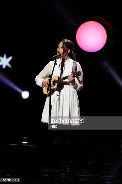 S GOT TALENT 'Live Show 2' Pictured Mandy Harvey