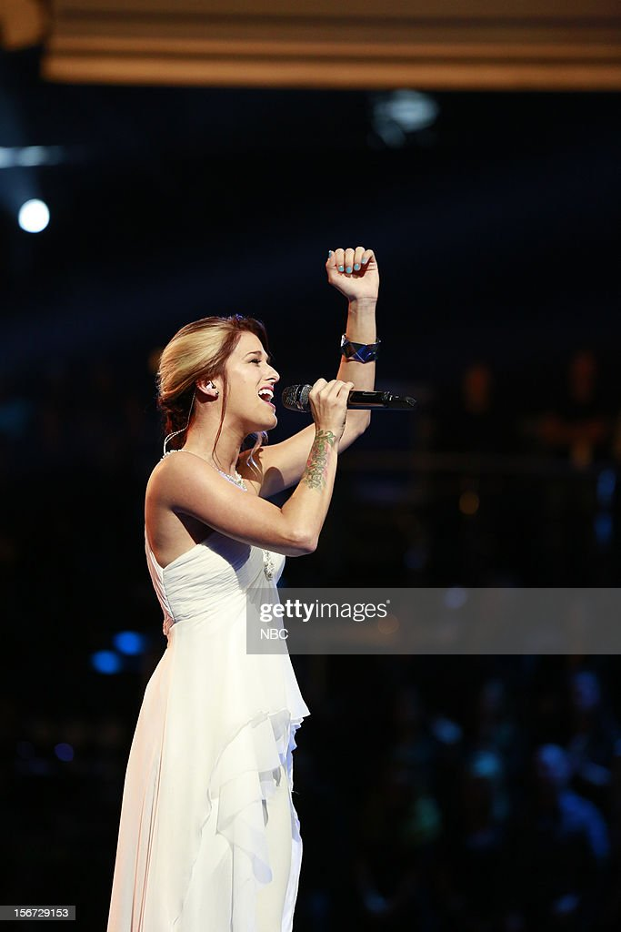 THE VOICE -- 'Live Show' Episode 319A -- Pictured: Cassadee Pope --