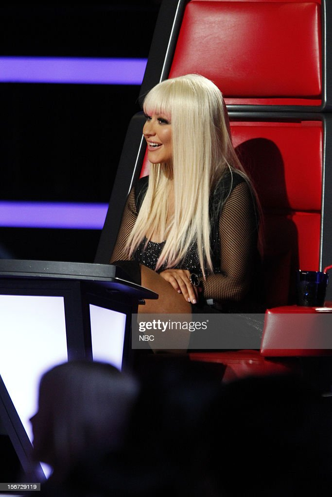 THE VOICE -- 'Live Show' Episode 319A -- Pictured: Christina Aguilera --