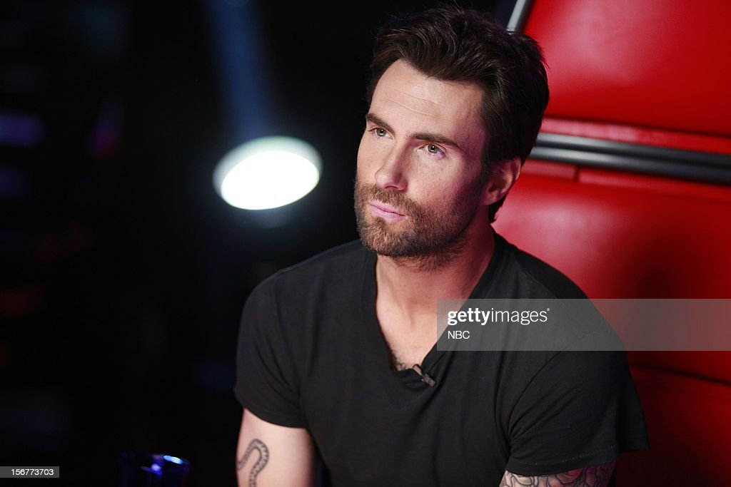 THE VOICE -- 'Live Show' Episode 319B -- Pictured: <a gi-track='captionPersonalityLinkClicked' href=/galleries/search?phrase=Adam+Levine+-+Singer&family=editorial&specificpeople=202962 ng-click='$event.stopPropagation()'>Adam Levine</a> --